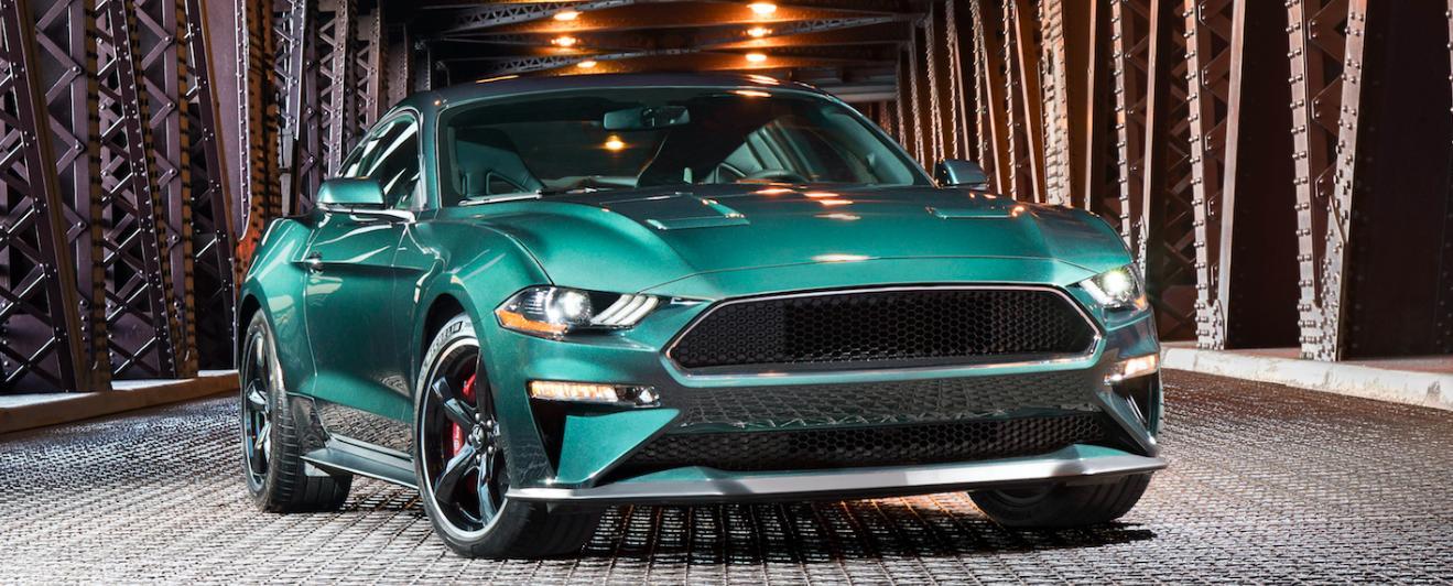 New Bullitt Mustang: best ever modern muscle car!