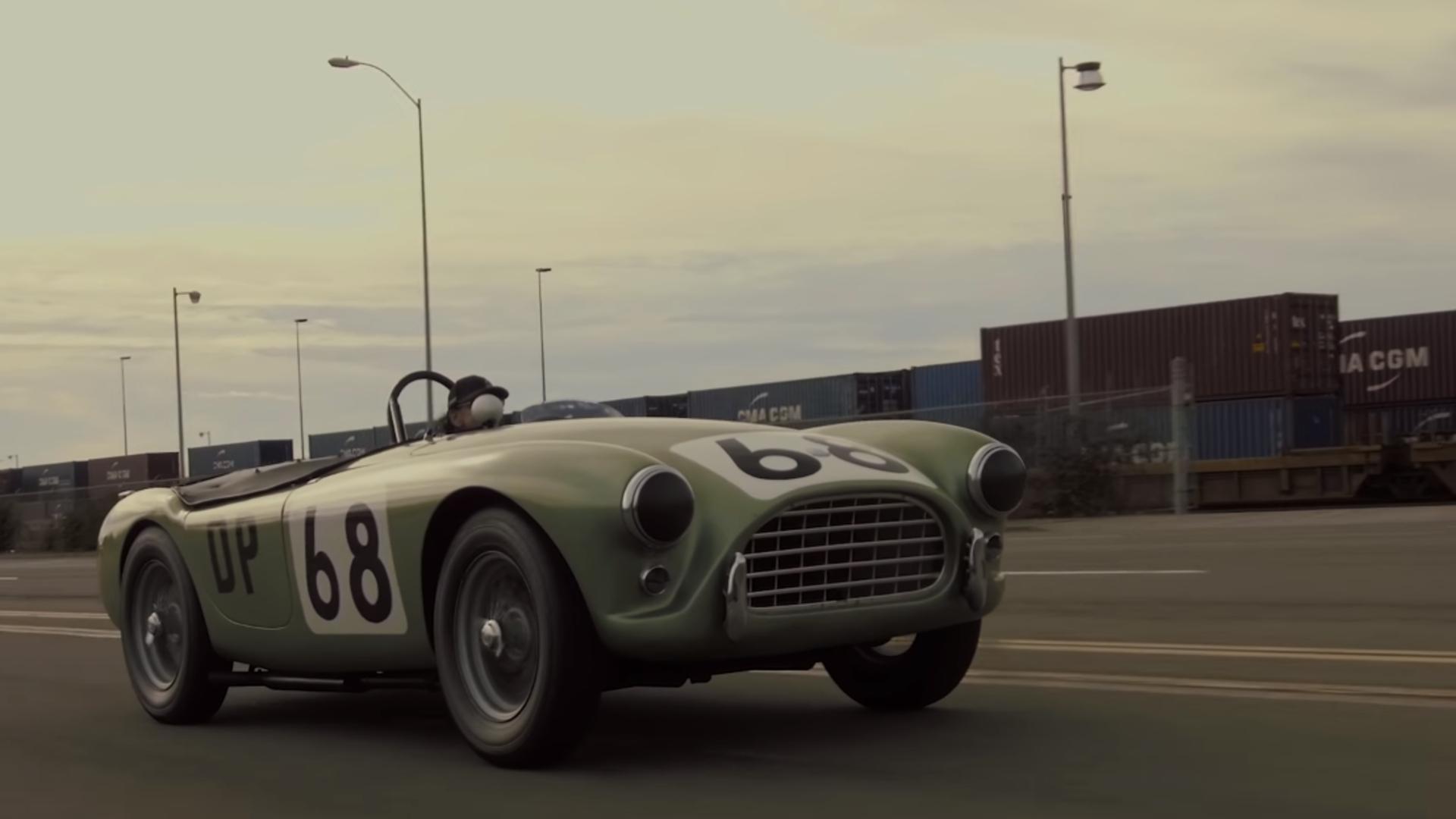 1962 AC Bristol: Los Angeles' Portside Racer