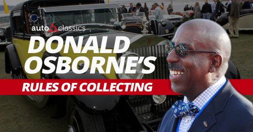 Donald Osborne's Rules of Collecting: Part 1