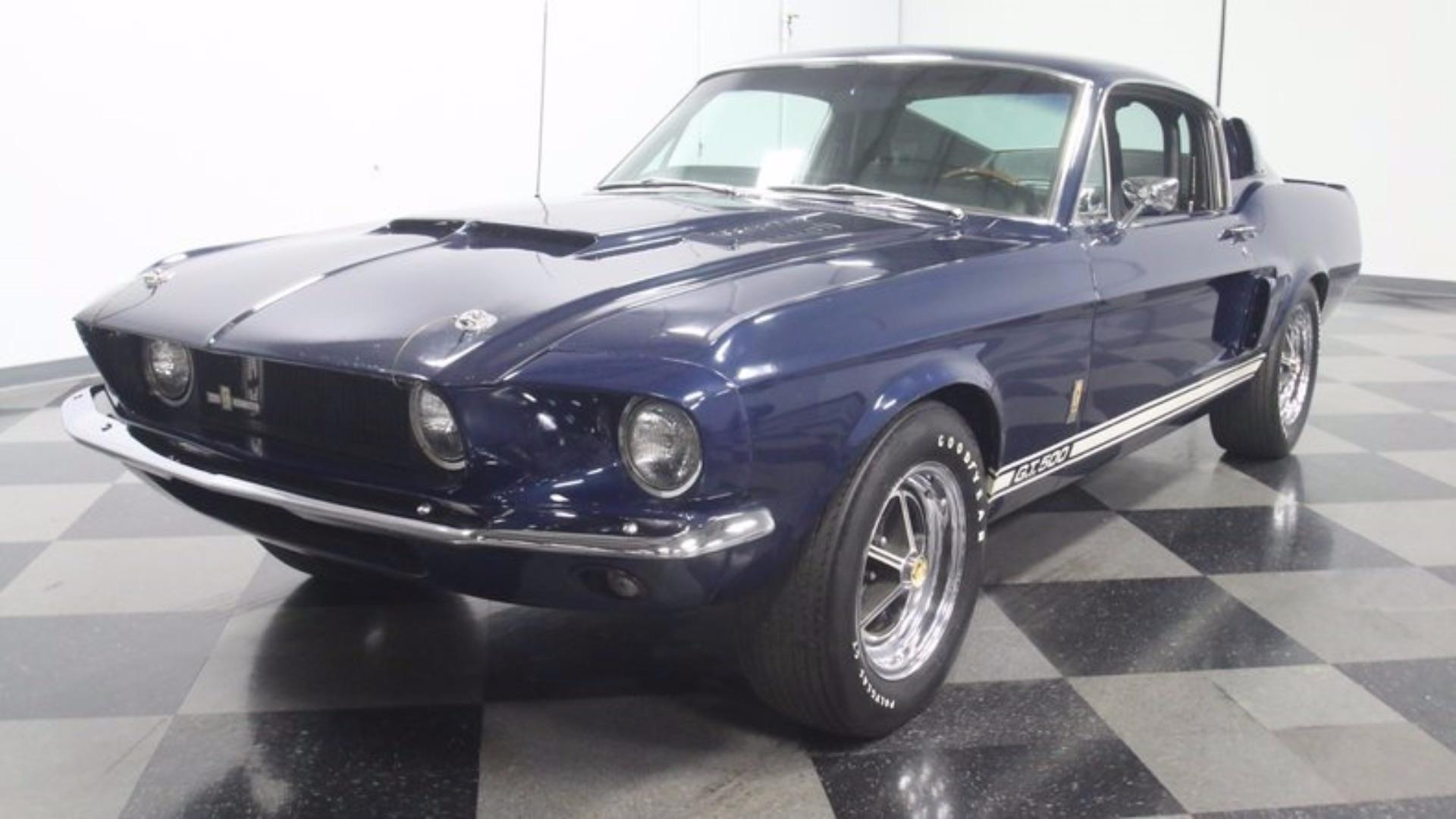 This Stored 1967 Shelby GT500 Is A Complete Time Warp