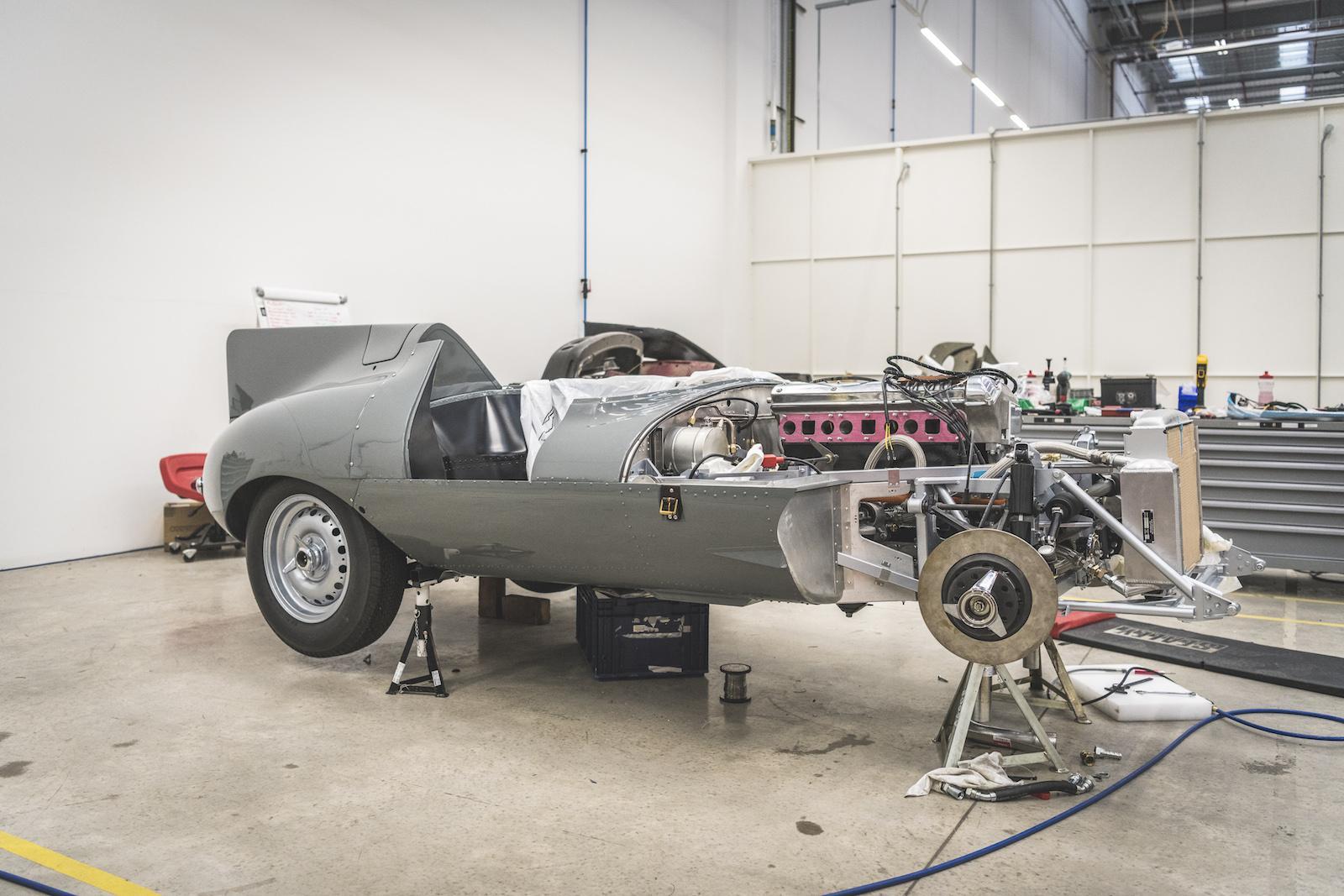 Insider: How Jaguar Classic build the new D-type