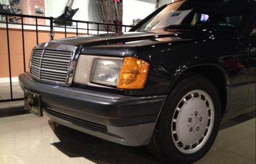 Classifieds Hero: James Brown's Mercedes-Benz 190E