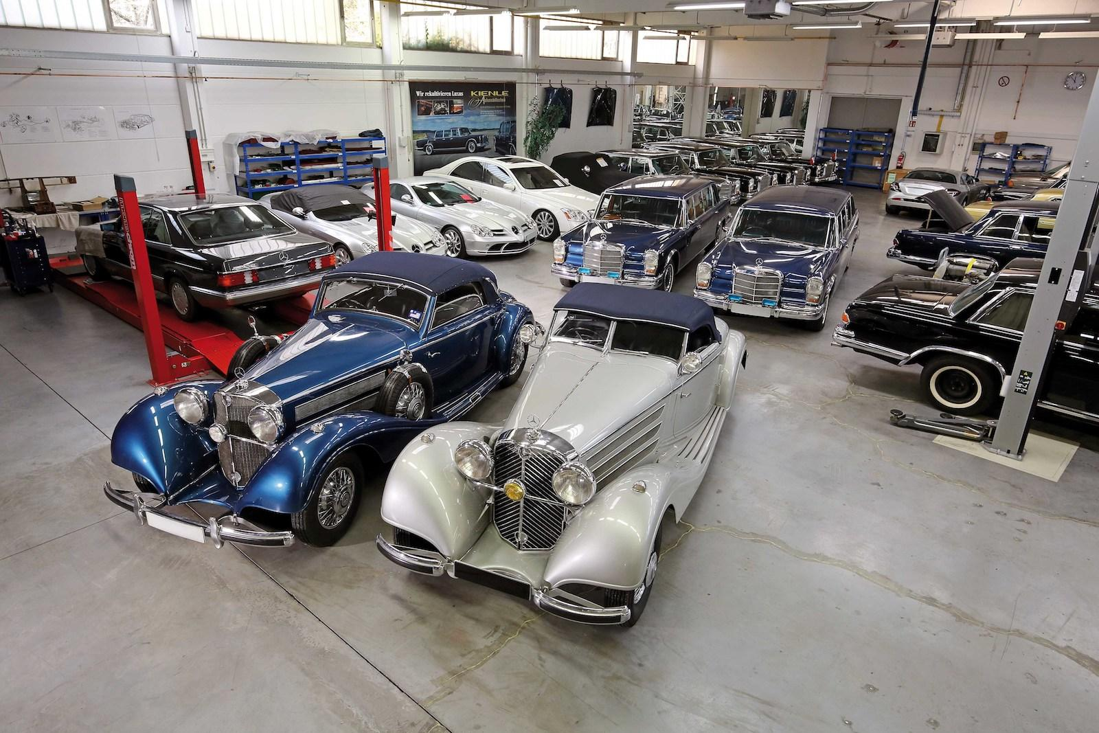 Mercedes specialist receives four cars from Asian royal family