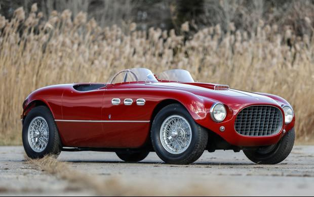 Historic Ferrari 250 MM Spider achieves $5,395,000 at auction