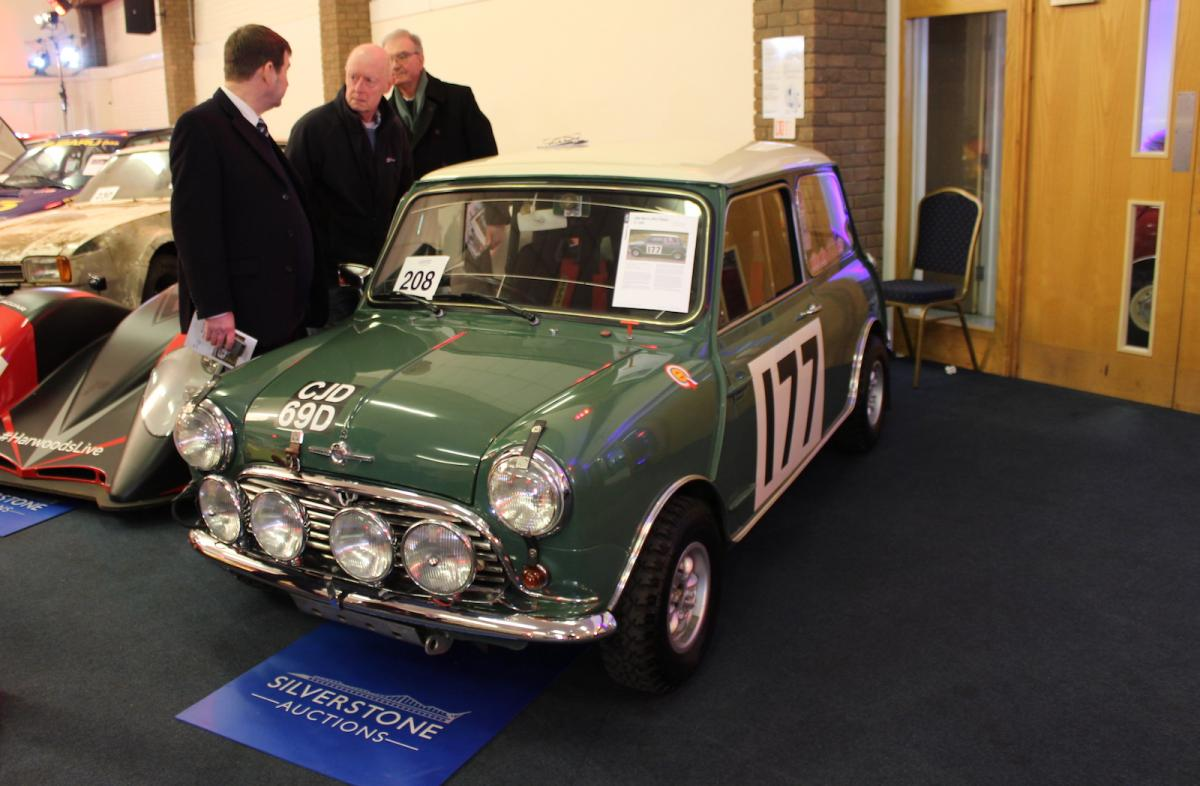 Market: strong prices at Race Retro competition car sale ...
