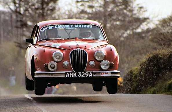 Ex-Ronnie McCartney Jaguar MkII up for sale