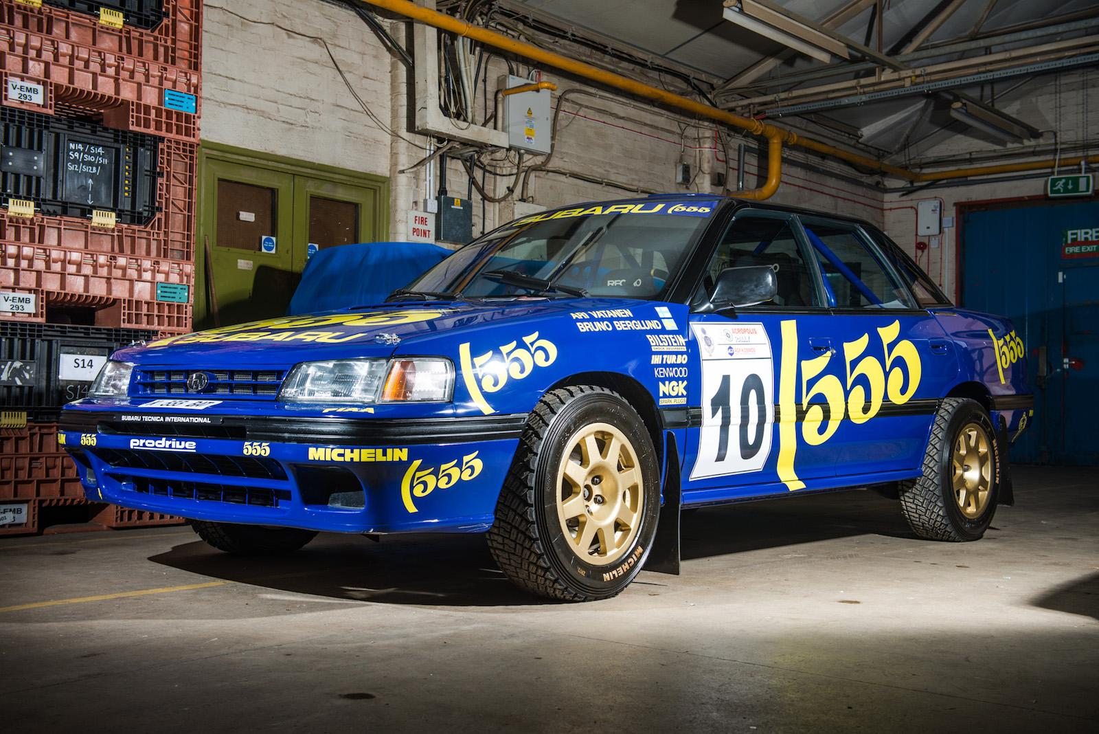 For sale! WRC Subaru Legacy driven by Vatanen and Burns ...
