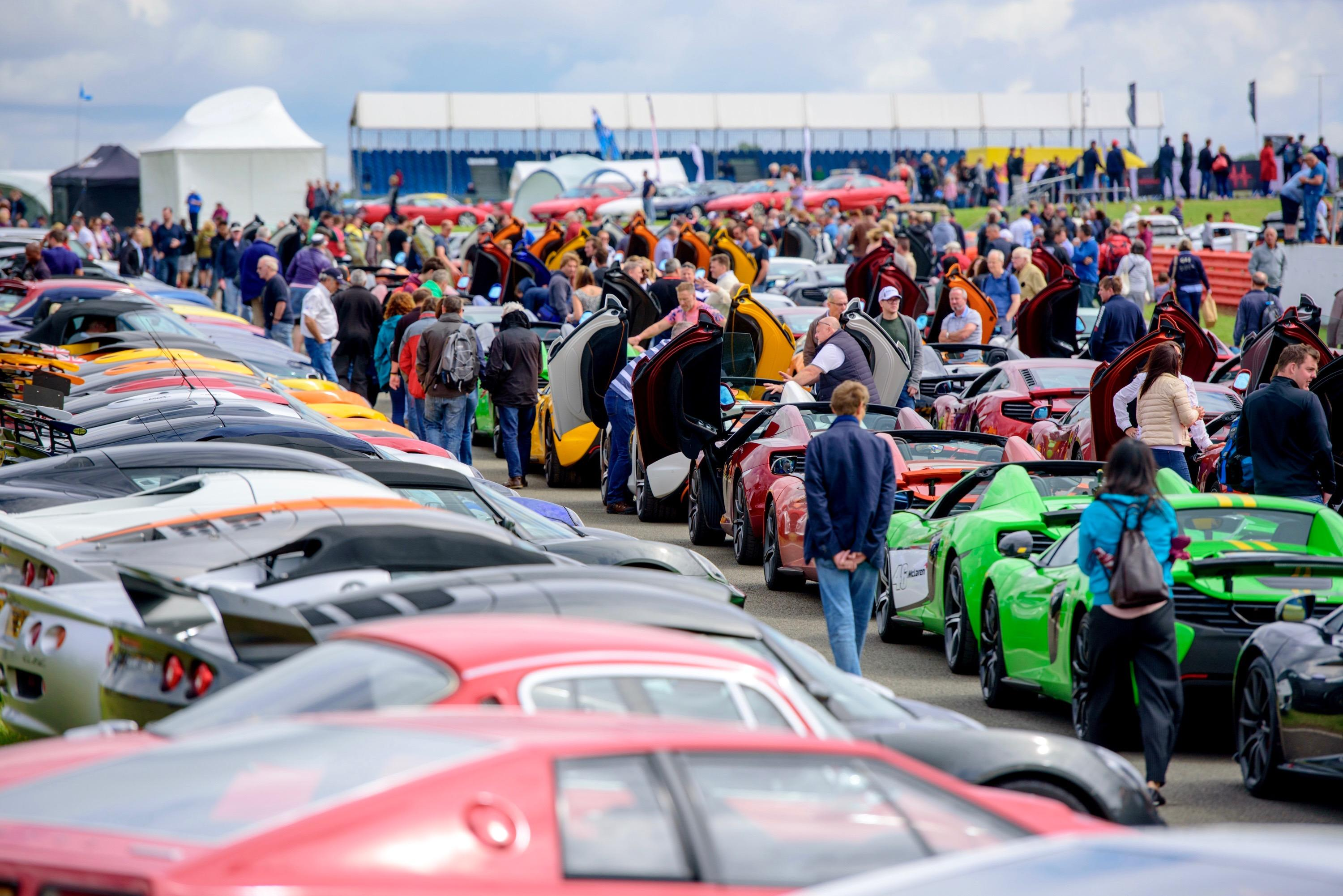 Silverstone Classic launch free test drives for 2018