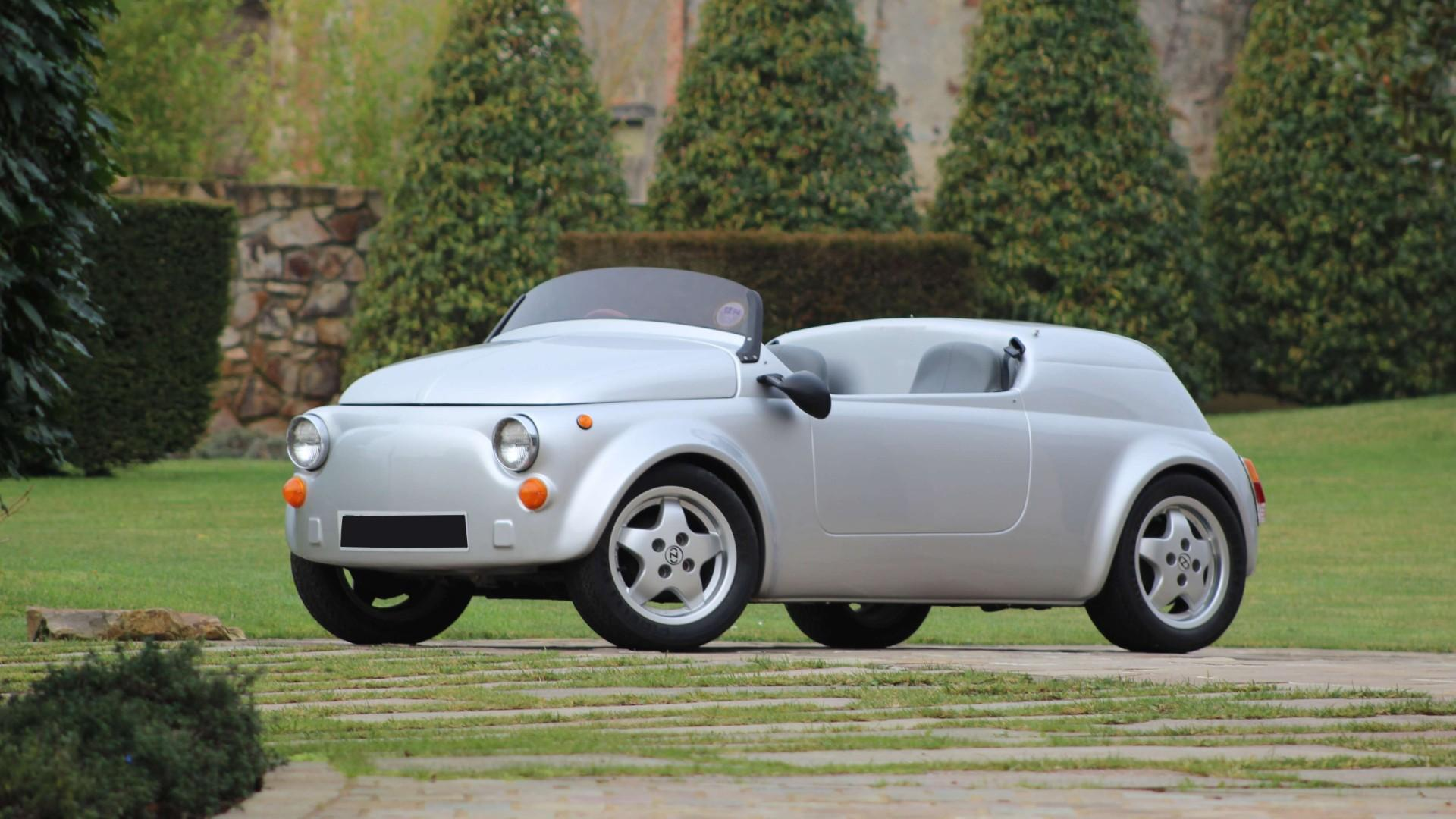 Trio of rare coachbuilt Fiat 500s head to auction