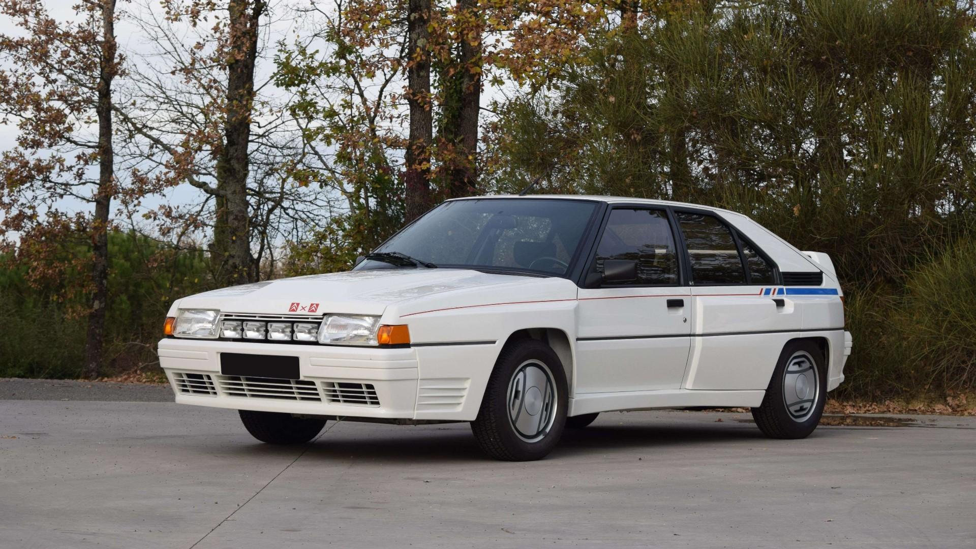 Citroen's forgotten BX 4TC Group B car is a potential bargain