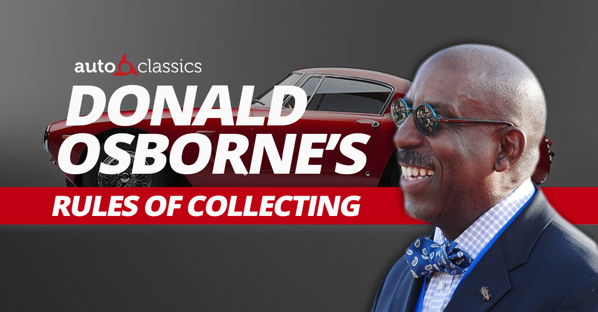 Donald Osborne's Rules of Collecting: Part 2