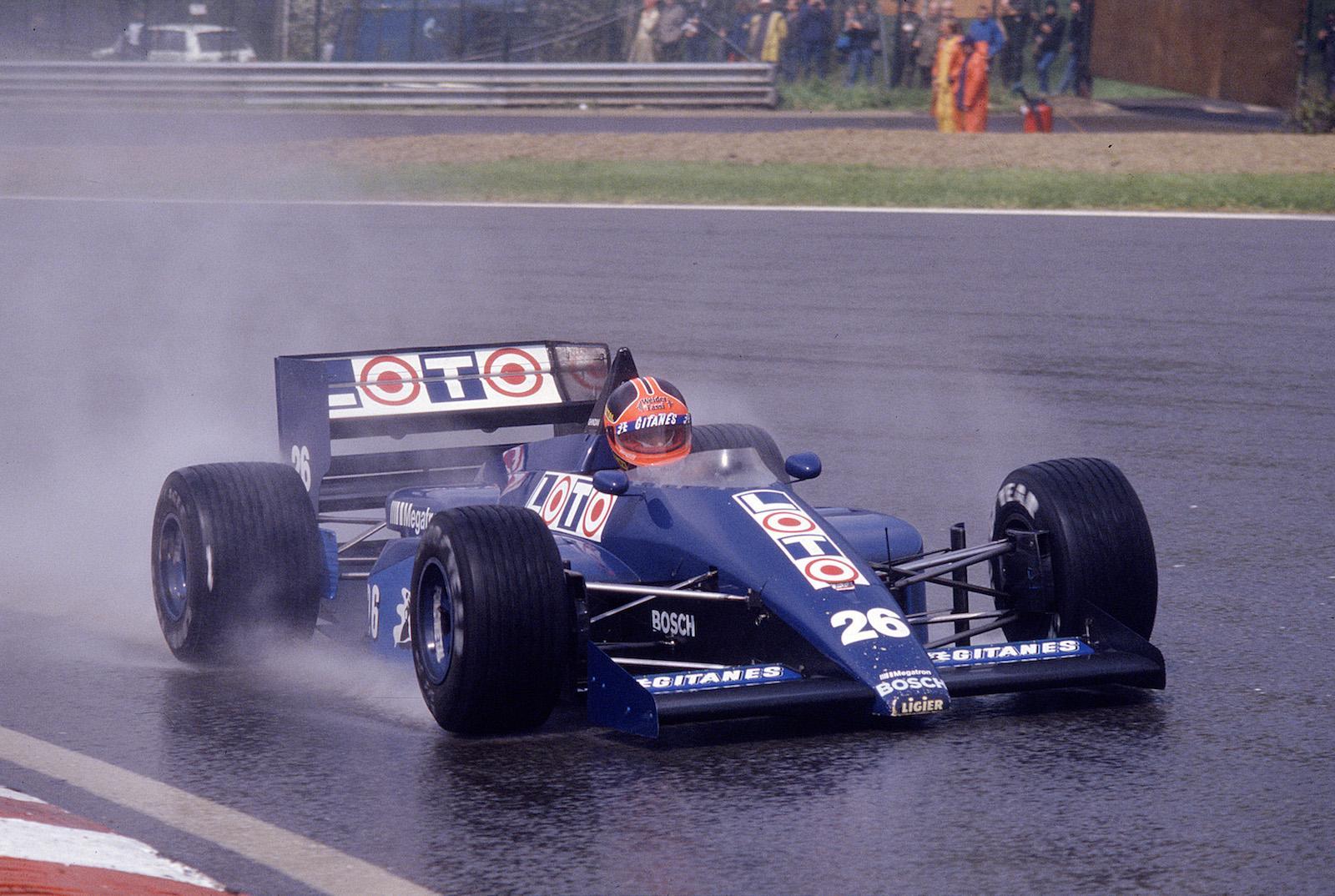 Piercarlo Ghinzani's Formula 1 struggles