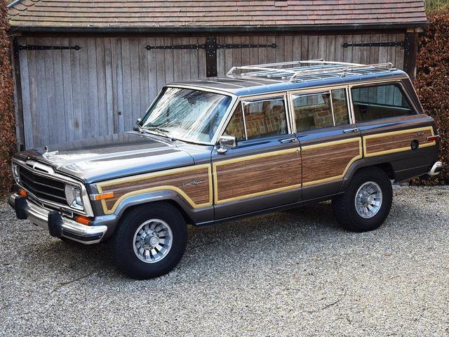 Classifieds Hero: Jeep Grand Wagoneer