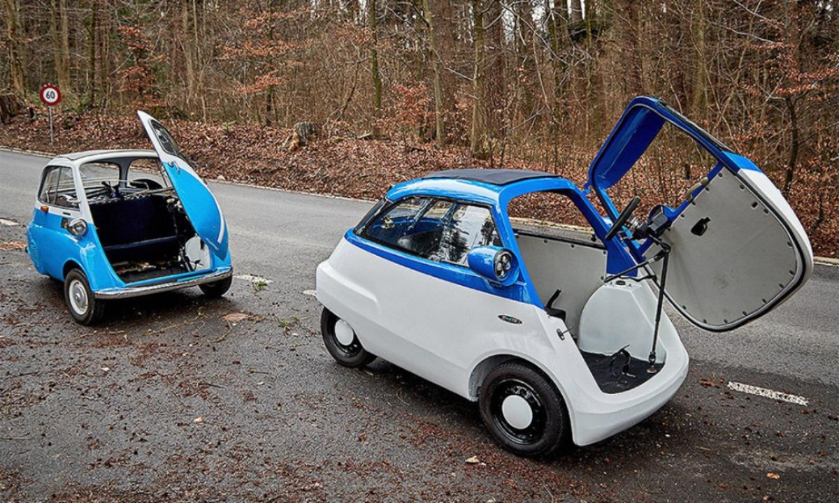 VWVortex com - Introducing Microlino Electric Mirco Car   would Elon