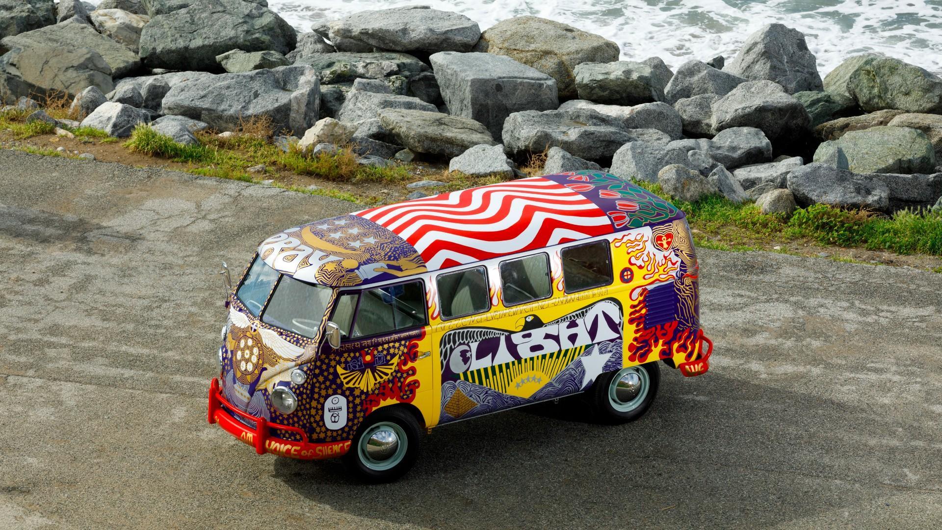 Woodstock's Iconic Volkswagen 'Light' Bus Returns!