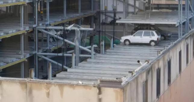 Trapped cars in Edinburgh 'robot car park' found 15 years on