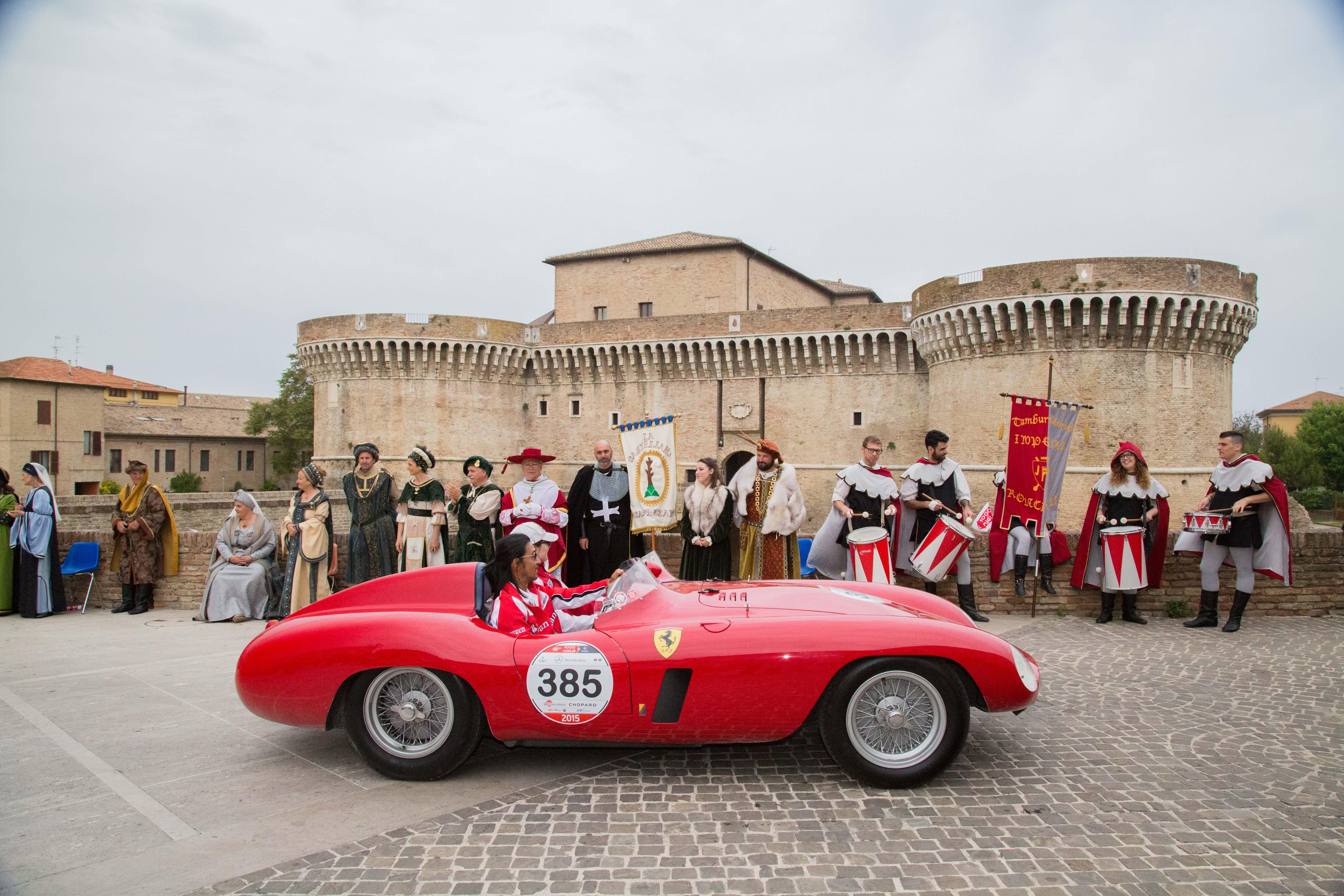 How to get a place on the Mille Miglia