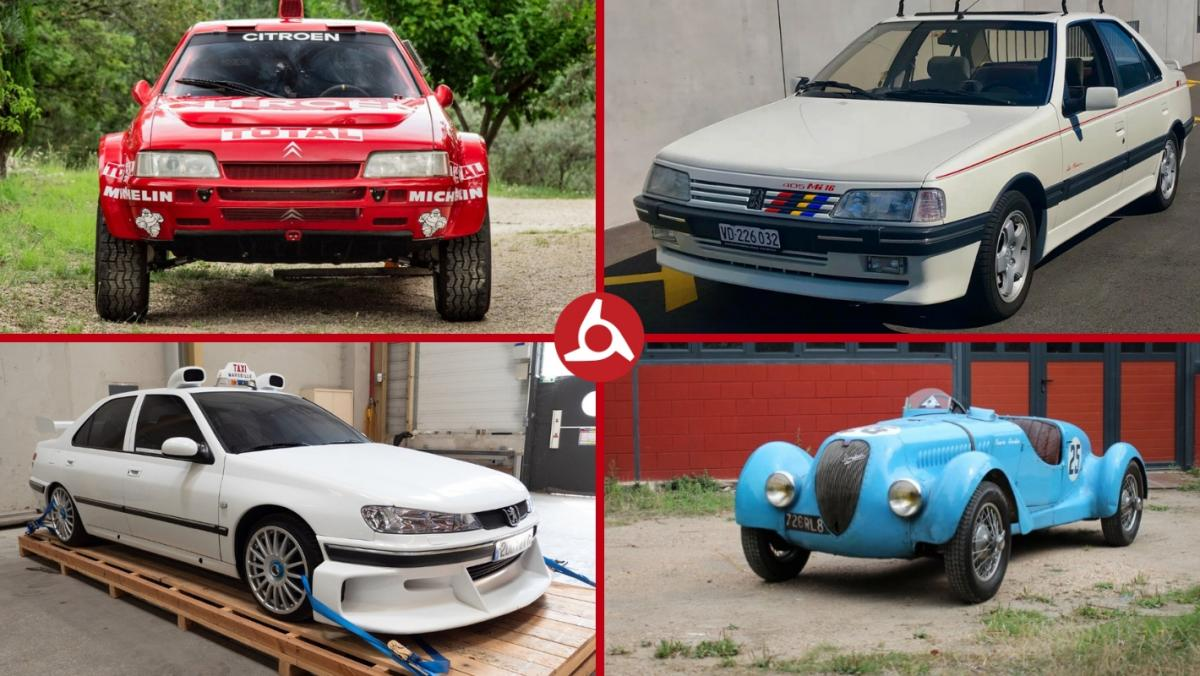 Classic Car Type French Cars Citroen Top 10 Being Auctioned This Weekend