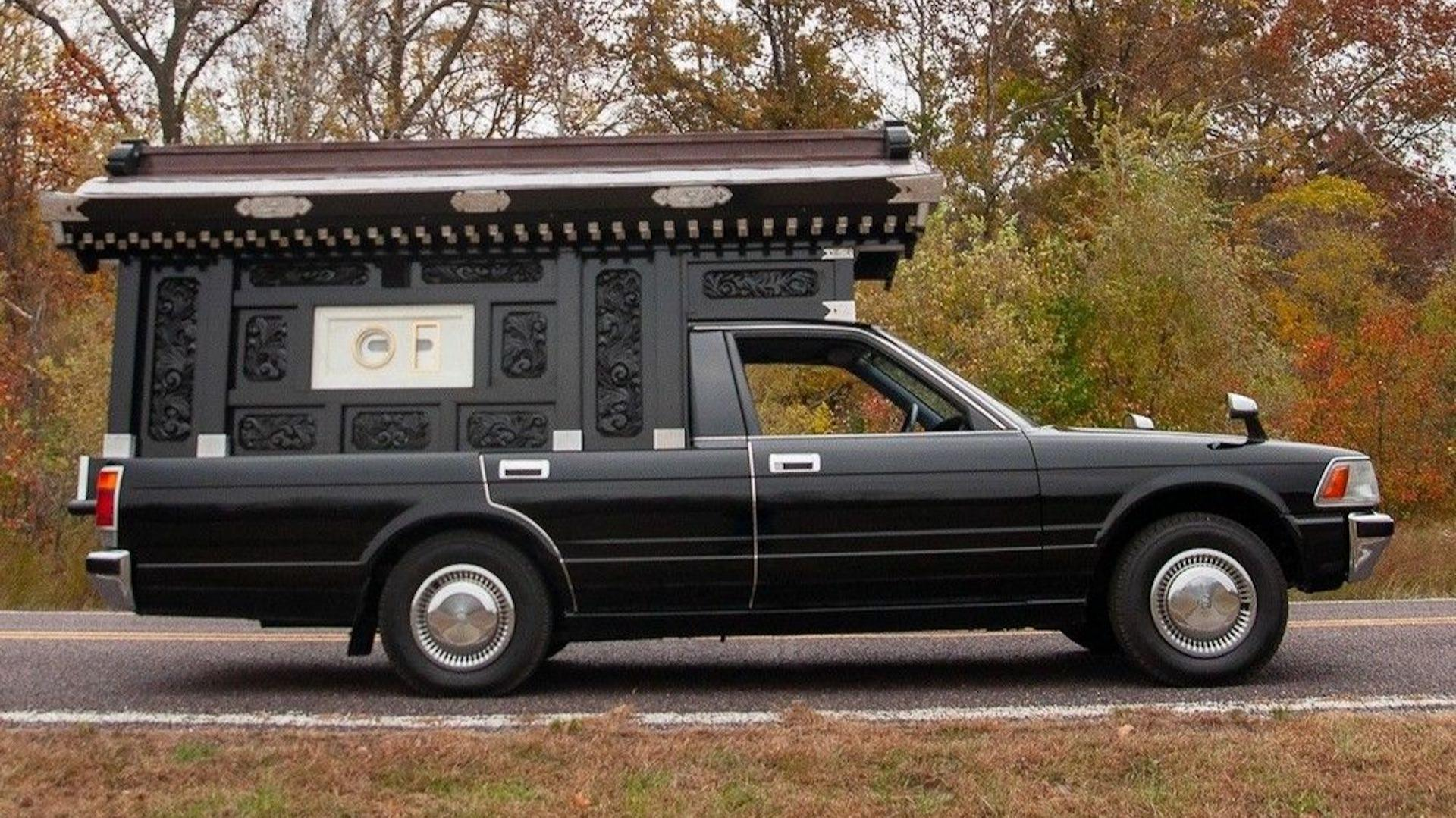 1991 Toyota Crown Hearse Is A £15k Halloween Prop Must Have