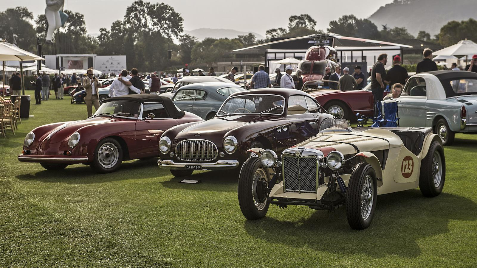 70 years of the Porsche 356 at The Quail
