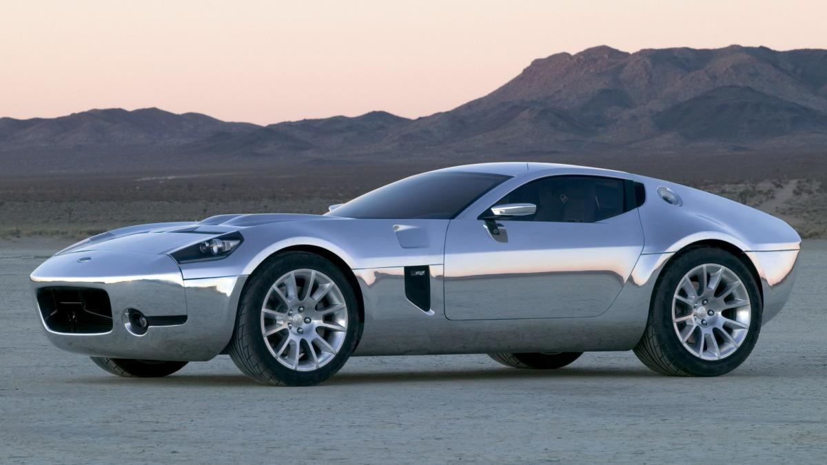 Ford shelby gr 1 concept set for production 16 years after debut autoclassics com