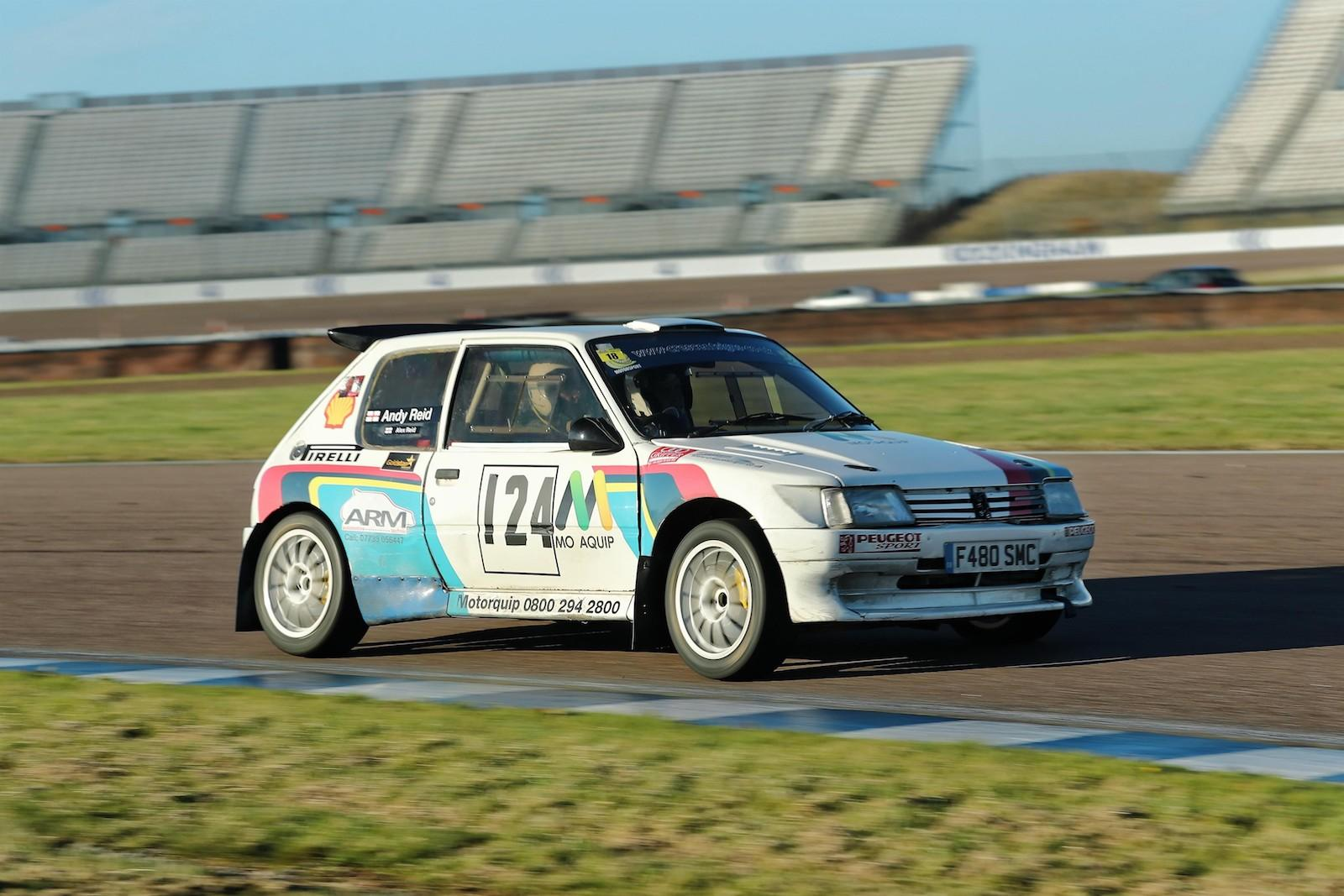 Rally heroes: Andy Reid's Peugeot 205 Maxi