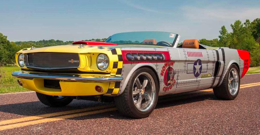 Classifieds Hero: 1965 Ford Mustang Restomod