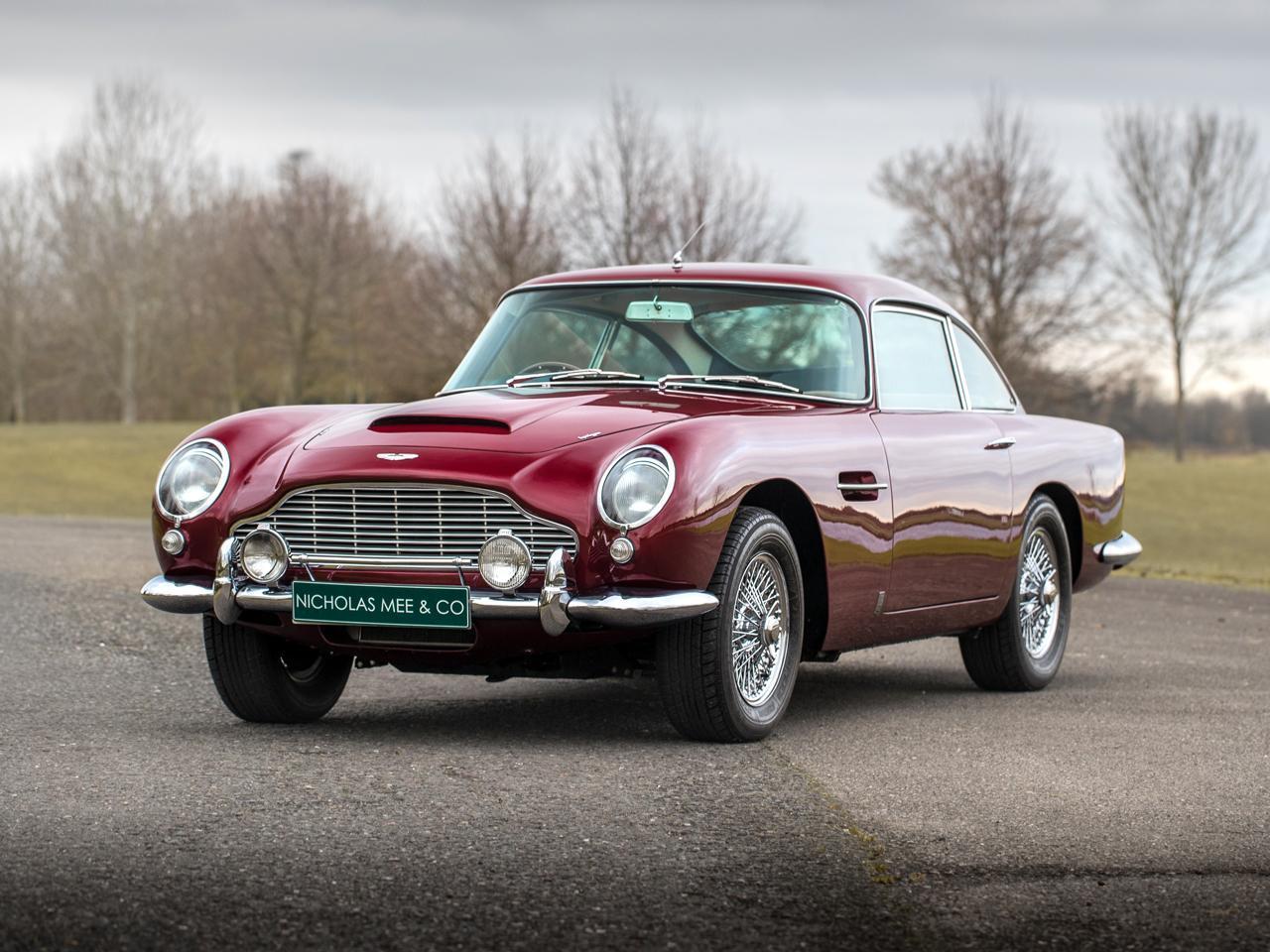 Ex-Robert Plant Aston Martin DB5 for sale