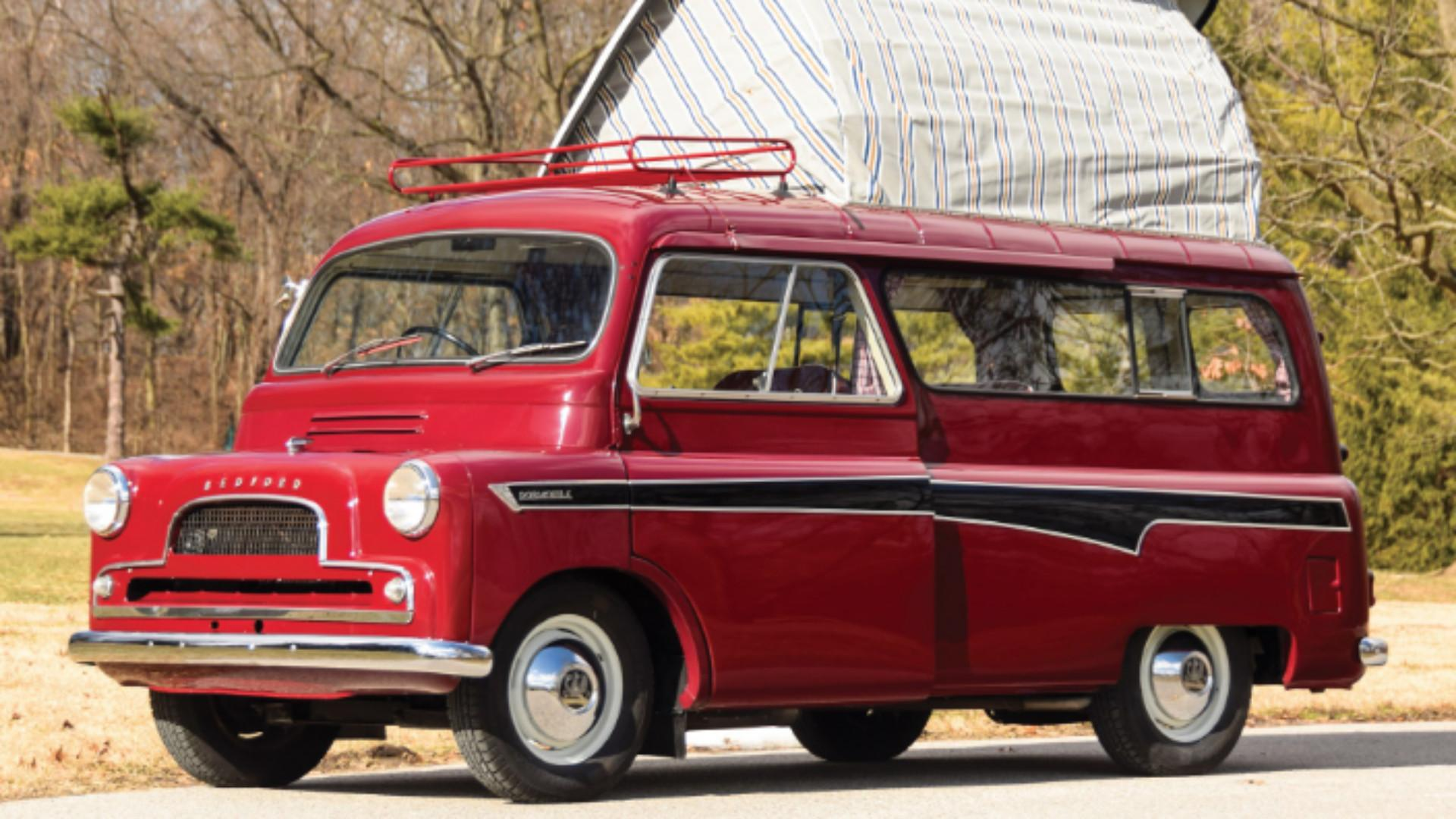 Carry On Camping In 1960s Style With This Bedford CA Dormobile