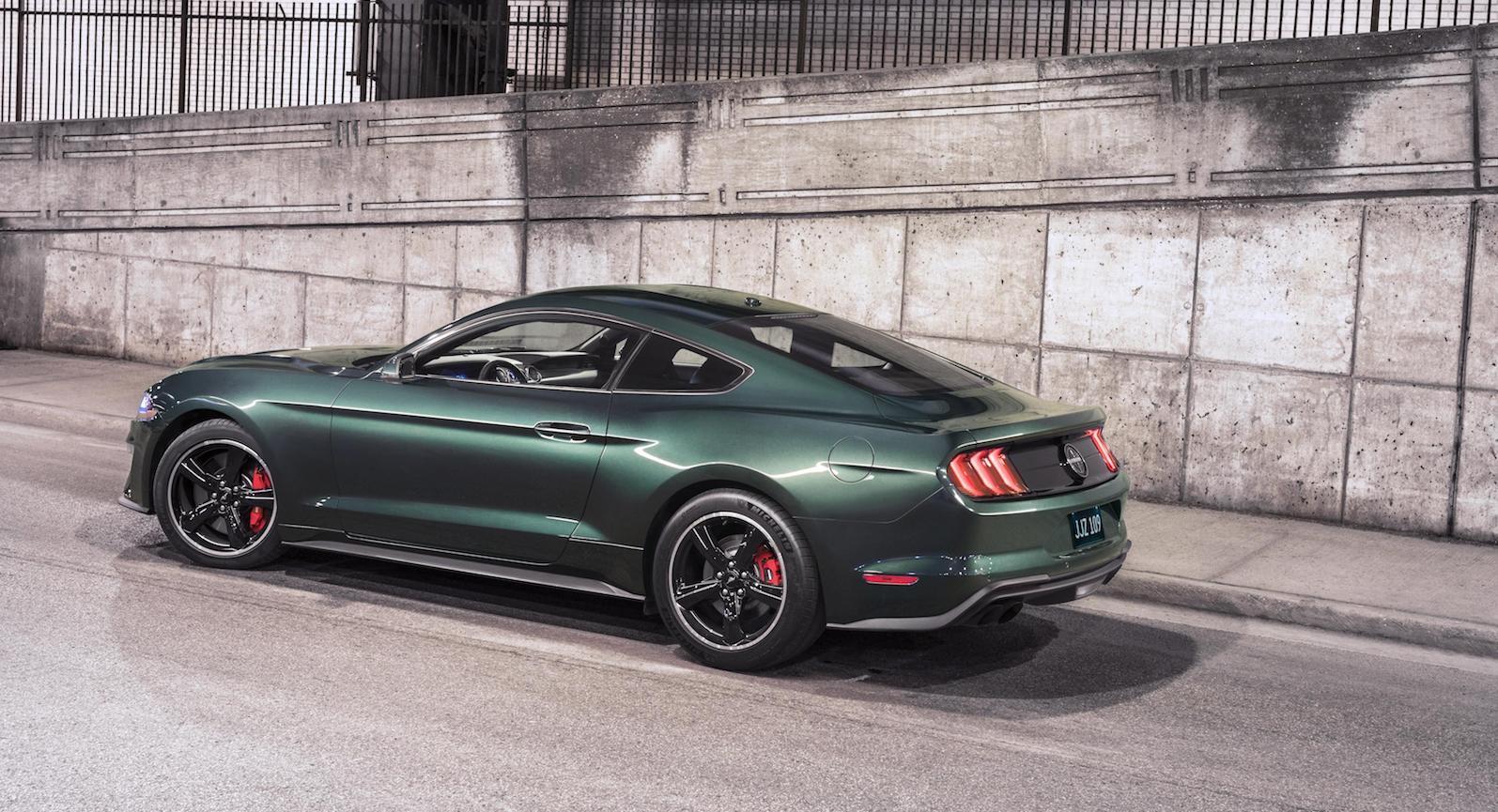 New Bullitt Mustang 001 sold for $300,000