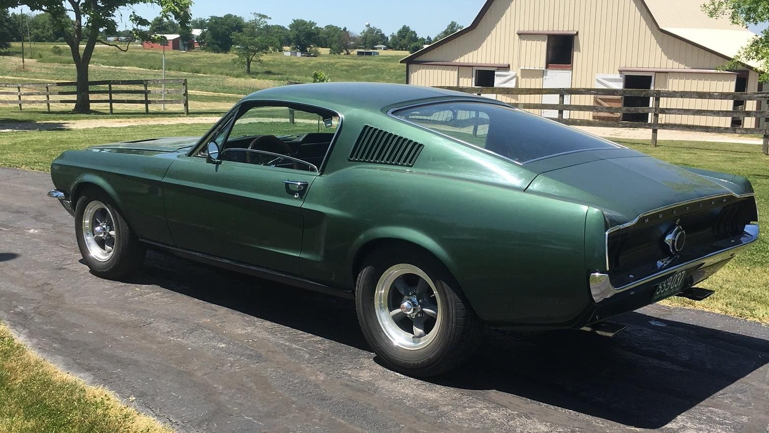 Classifieds Hero: Bullitt-replica Mustang