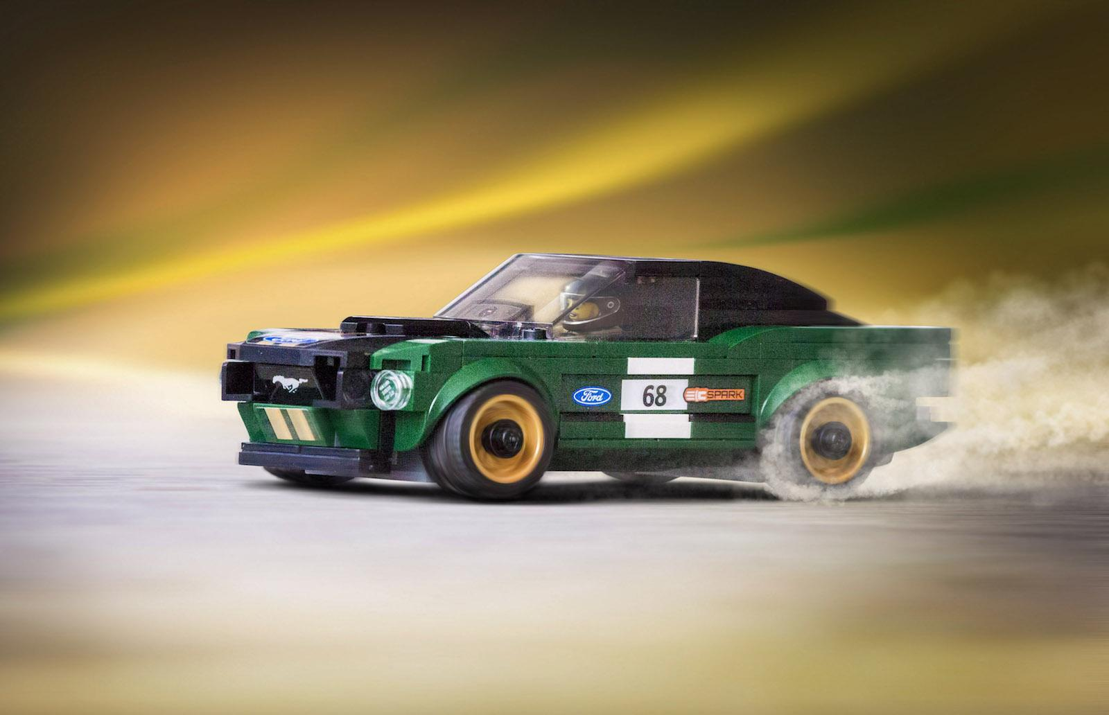 We want this! Lego's new 1968 Ford Mustang Fastback