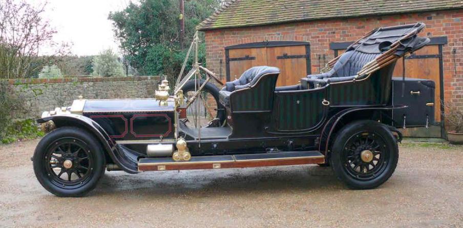Classified Hero: 1909 Rolls-Royce Silver Ghost Tourer