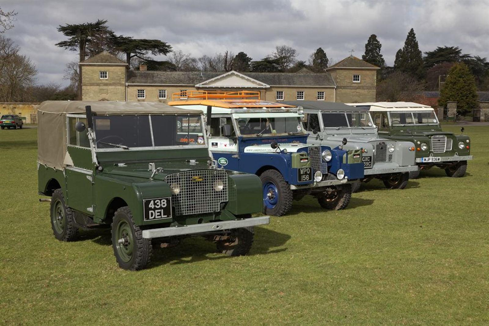 New Land Rover show at Bicester Heritage