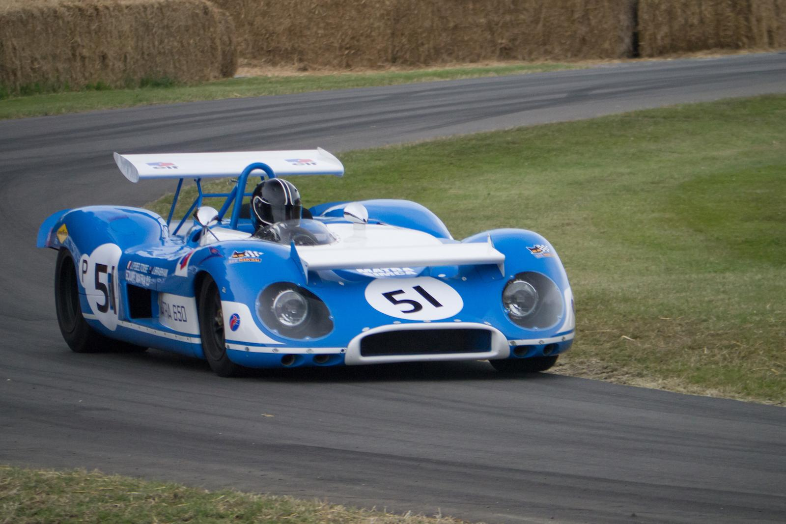 V12 Matra MS650 to run on French roads in Tour Optic