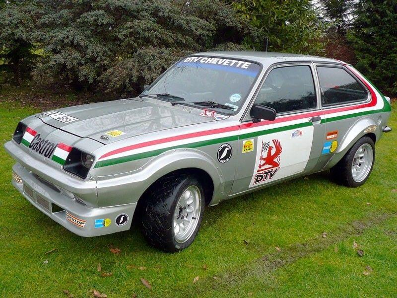 The rally car designed to make Vauxhall go global