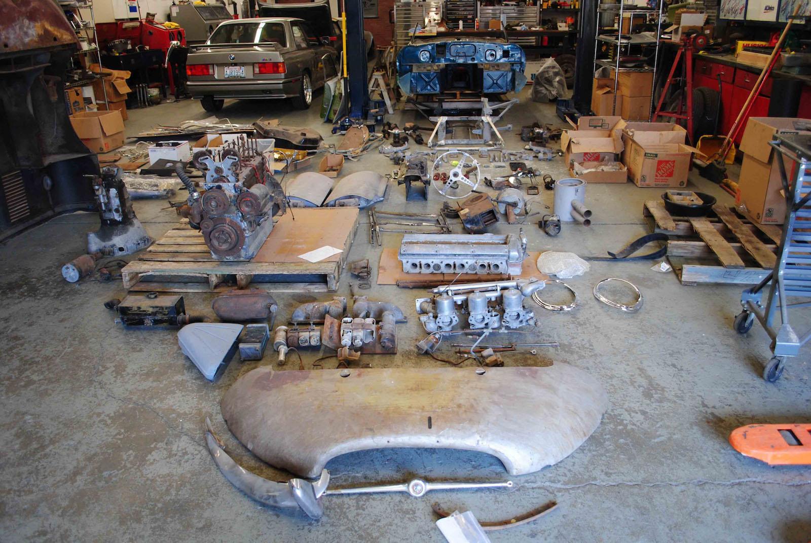 Barons to auction Jaguar E-type 'restoration kit'
