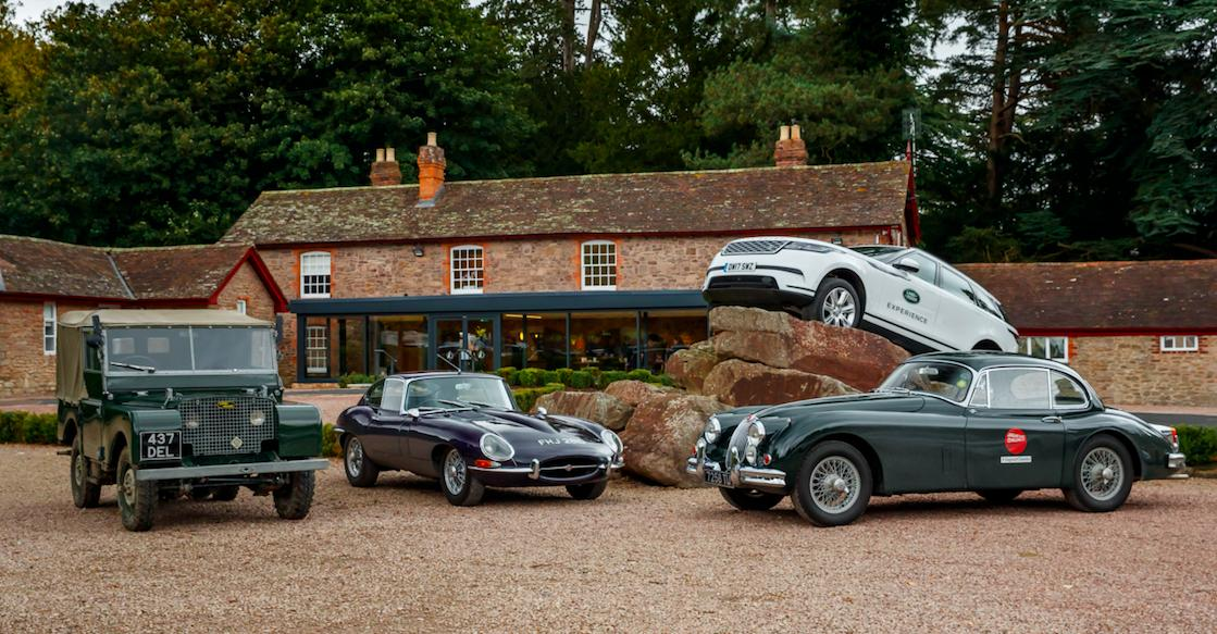 Classic Jaguar, Land Rover and Range Rover driving days