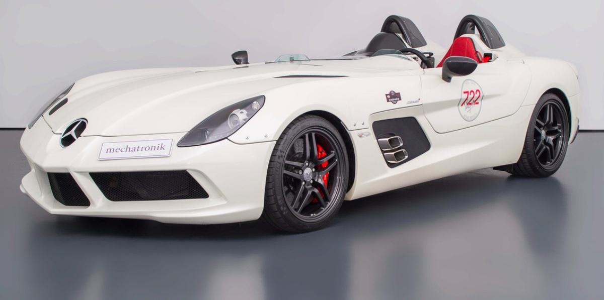 Ultra-rare Mercedes SLR Stirling Moss Edition costs over $3m!