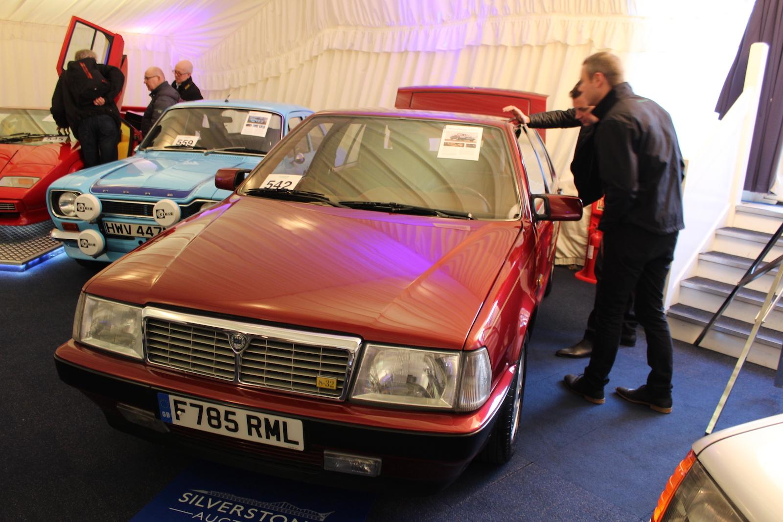 Market: celebrity cars and fast Fords top Race Retro road car sale ...