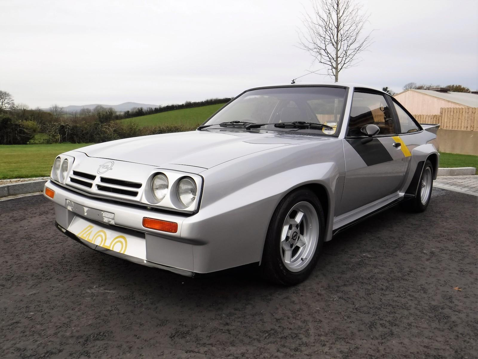 Rare Opel Manta 400 up for auction