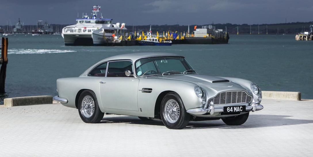 Bonhams To Auction Ex Beatles Aston DB5 And Radford Mini