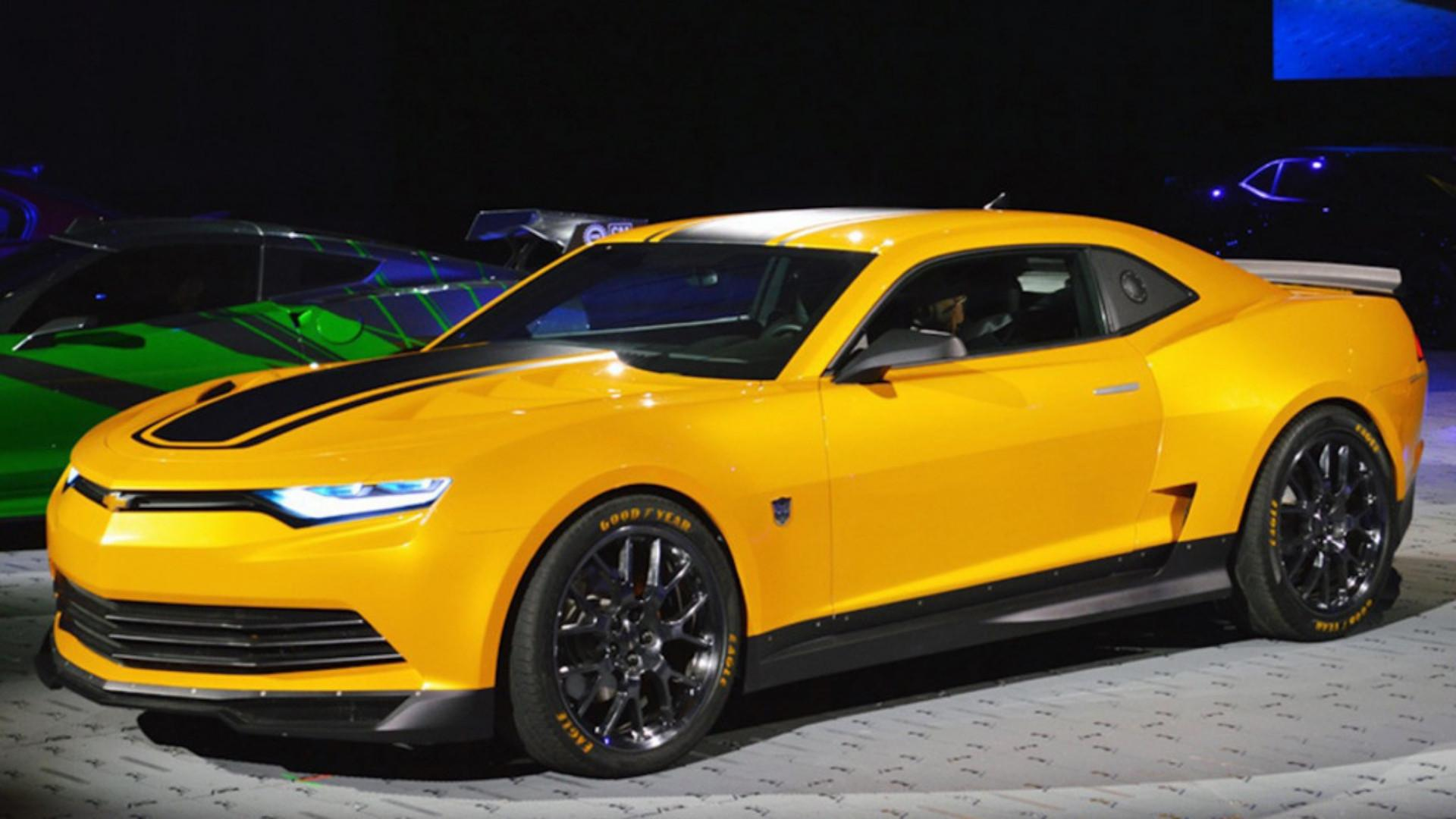 Transformers' Bumblebee Chevy Camaros Pull $500,000 in Group Auction