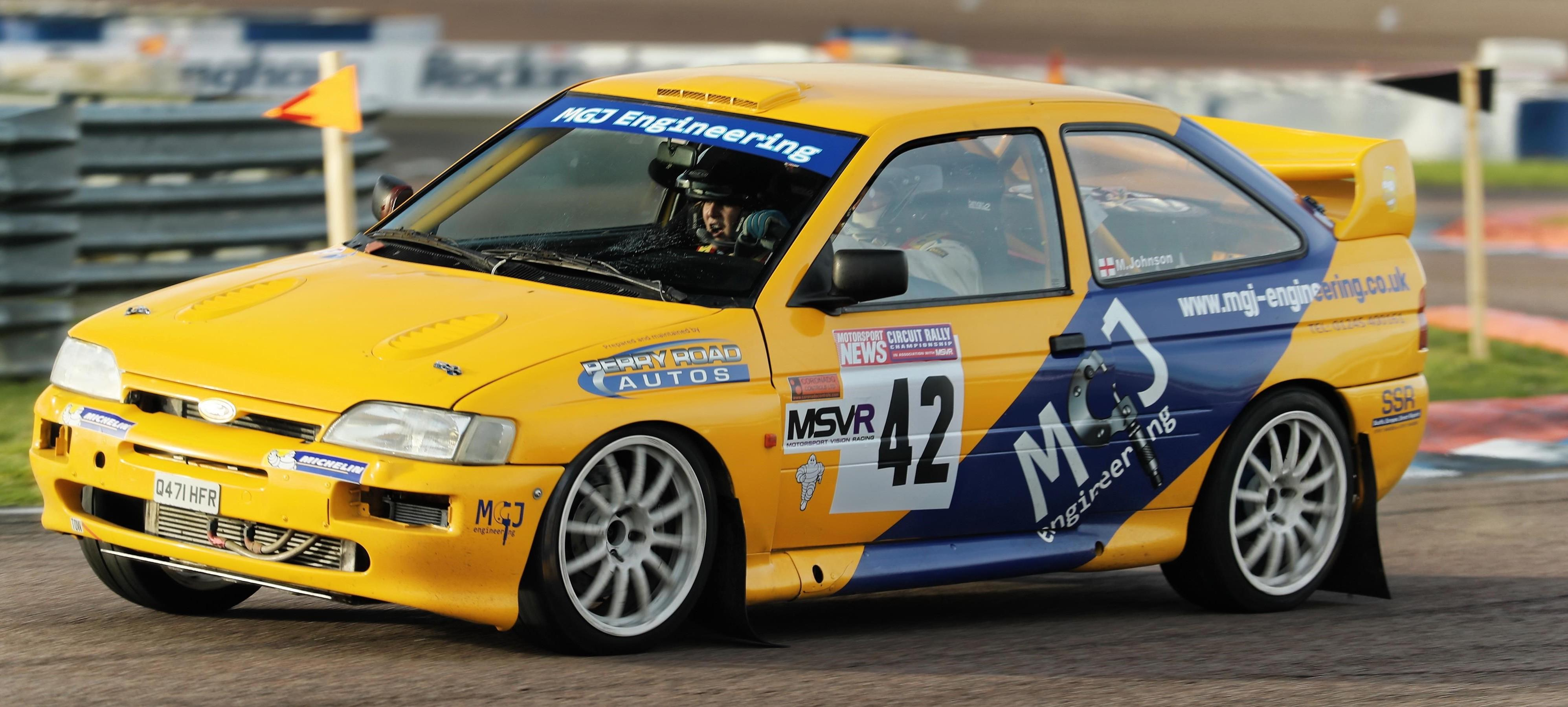 Rally Heroes: Mick Johnson's Escort Cosworth