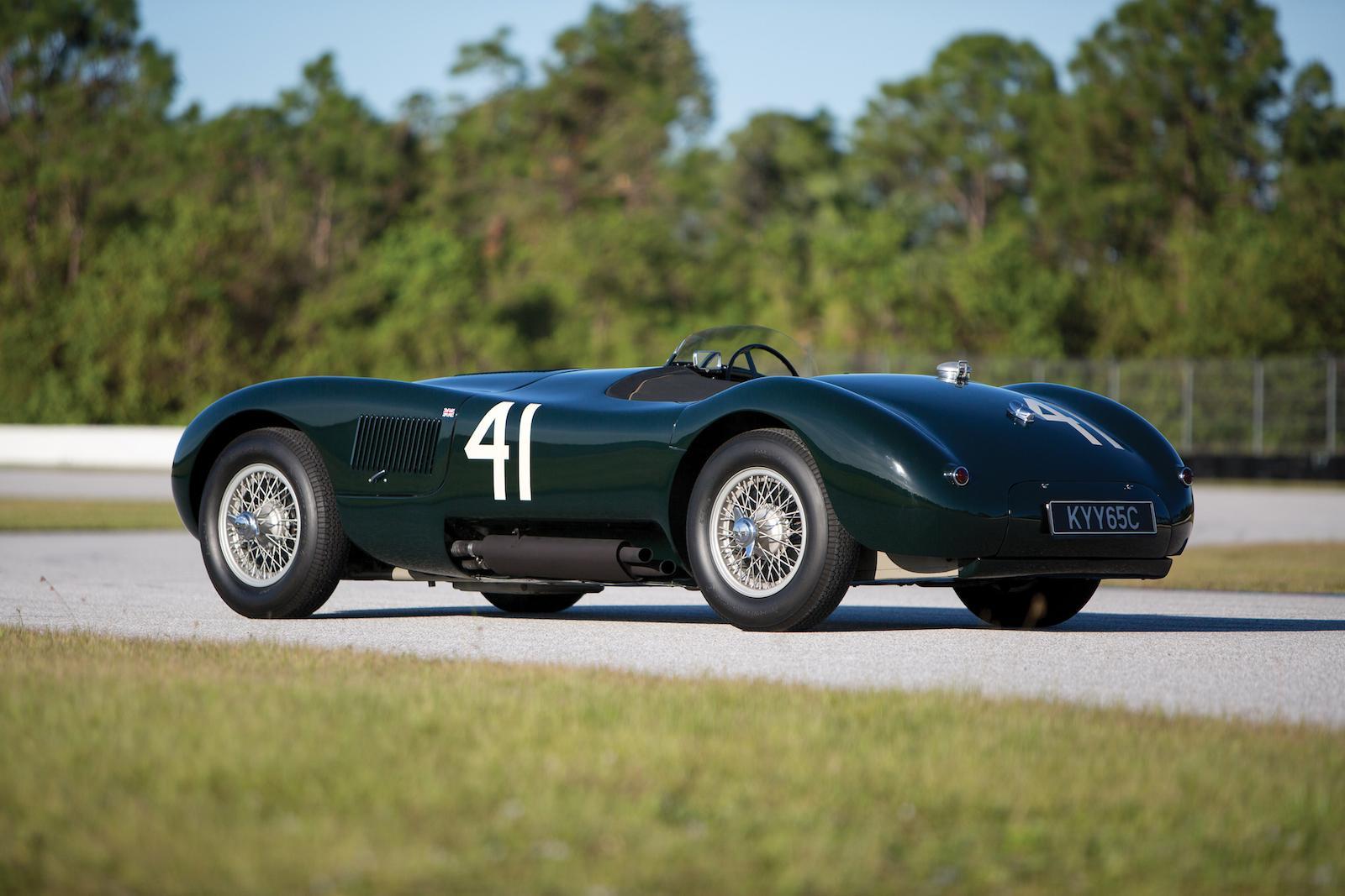Ex-Phil Hill Jaguar C-type at RM New York sale