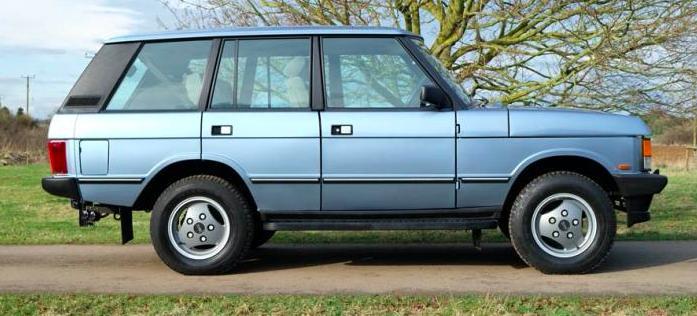 Classifieds Hero: 1988 Range Rover Vogue Turbo Diesel