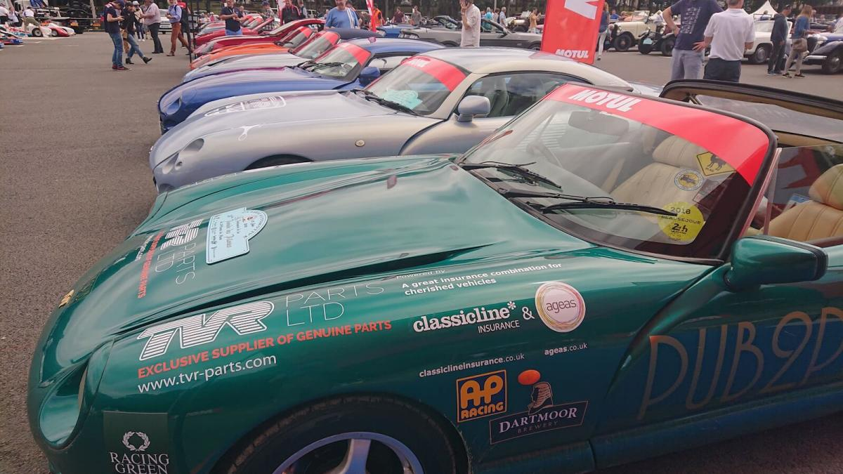 84 hours to Le Mans - in a TVR! | Autoclics.com