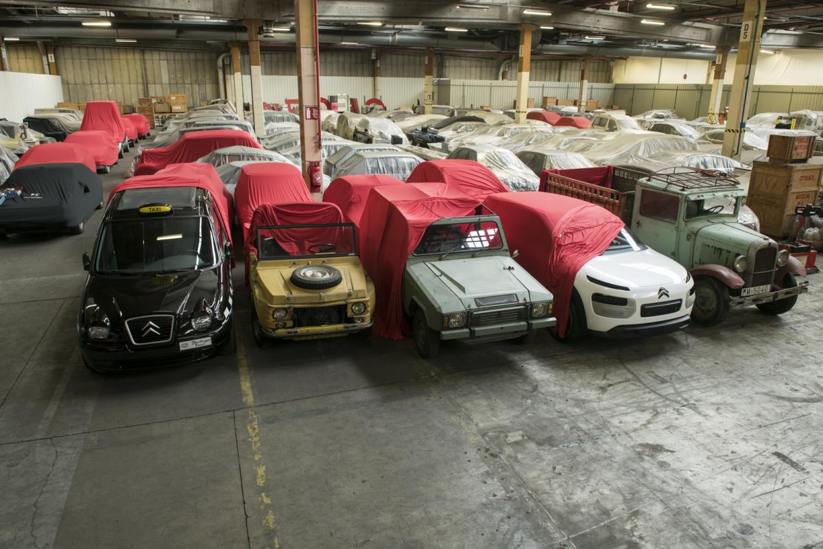 Citroen Plans The Ultimate Garage Sale