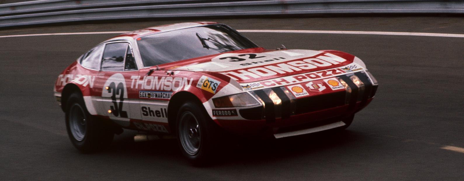 Ferrari Daytona leads Silverstone Classic celebrations