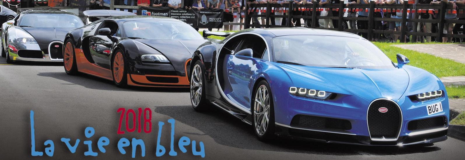 Bugatti Chiron to take on Prescott Hill Climb